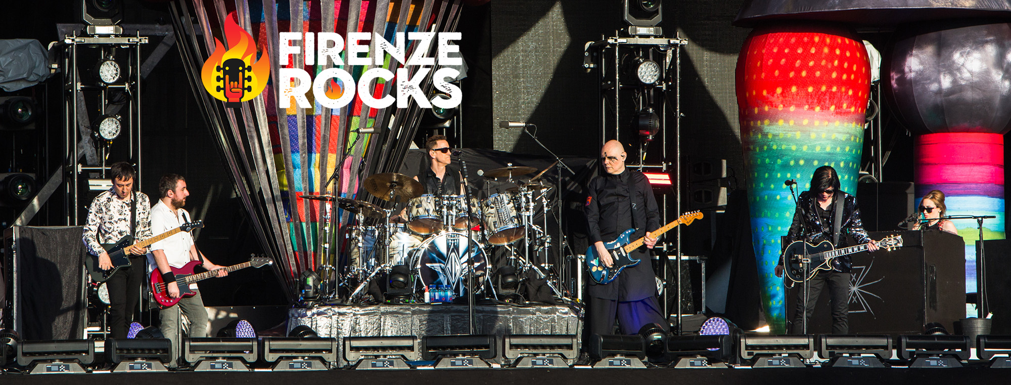 Rocks and Shots al Firenze Rocks 2019