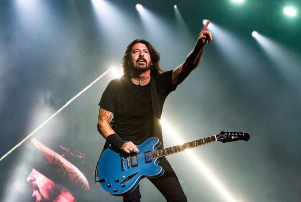 Foo Fighters - Dave Grohl - Foto di Henry Ruggery